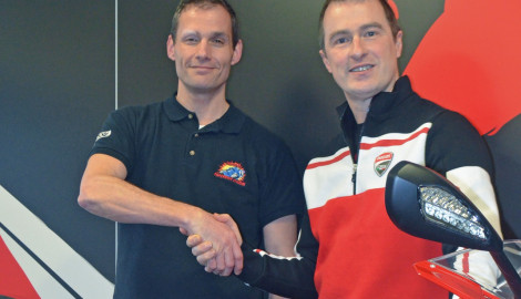 Ducati & Silverstone bike school announce dream partnership