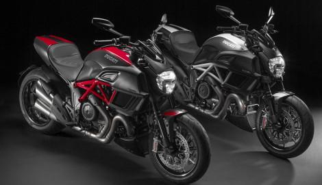 Ducati's work of the Diavel