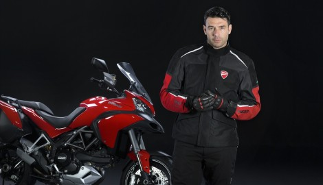 'World first' bike safety technology from Ducati