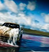 Porsche on Silverstone Park