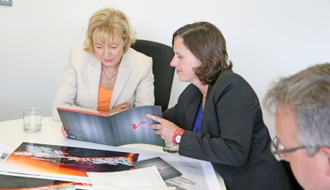 """Andrea Leadsom MP praises """"great work"""" at Silverstone Park"""