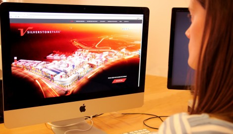 Stunning new website for Silverstone Park