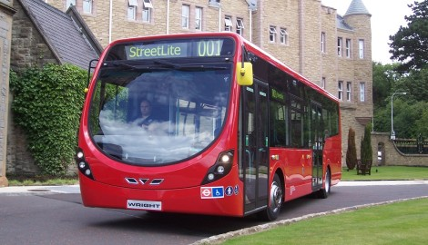 Flybrid KERS bus trials commence with Wrightbus
