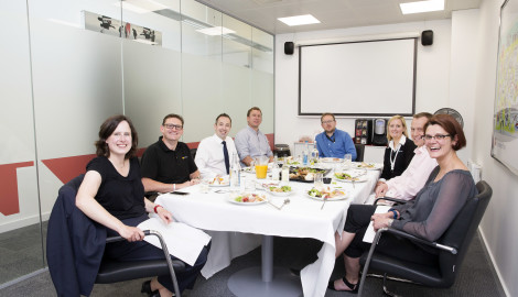 High praise from senior figures for Silverstone Park's networking philosophy