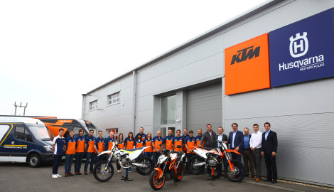 KTM (UK) completes move into bespoke-designed HQ at Silverstone Park