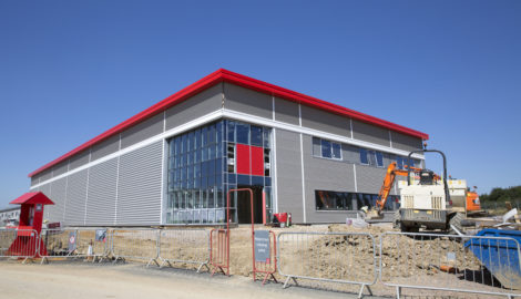 Rapid progress for 'flexible' new 125,000 sq ft industrial unit development