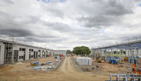 New Industrial Units Time Lapse