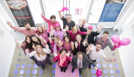 Park's social events raise funds for Macmillan & Wear It Pink charity days