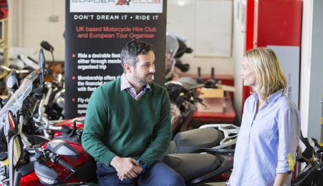 Spyder Club on road to success with European motorbike thrills