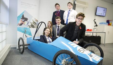 Hexagon metrology boost for Silverstone UTC Greenpower team