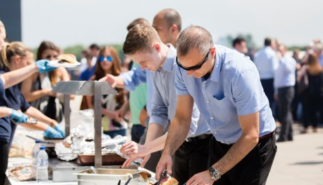 Summer BBQ among feast of fun activity for Silverstone Park companies