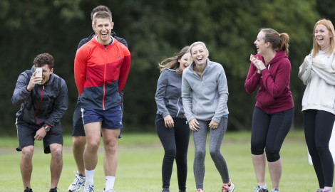 New company MLL gets off to a winning start at Silverstone Park sports day
