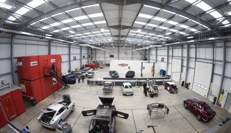 Niche car manufacturer David Brown Automotive relocates to new Silverstone Park premises
