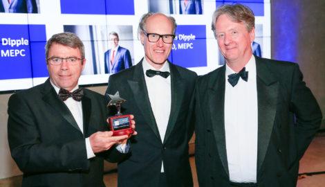 Major property award for Silverstone Park developer MEPC's CEO James Dipple