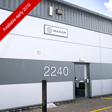 Unit 2240, Available soon, Silverstone Park