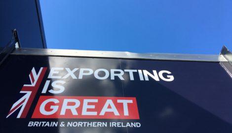 Dept for International Trade visits Silverstone Park