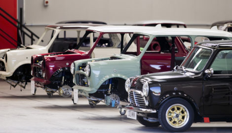 First Mini Remastered models built at Silverstone Park roll off production line