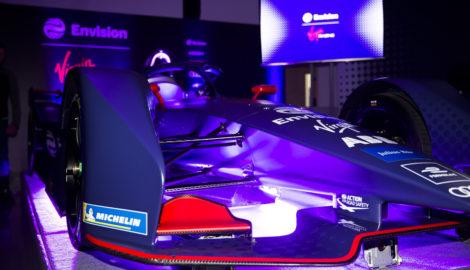 Virgin Racing new Formula E car launch, Oct 2018