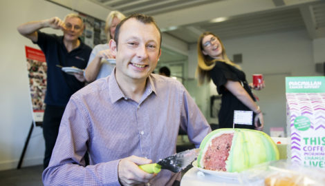 'Cake-off' raises £220 for Macmillan