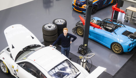 Park's location ideal for track car specialist Valluga