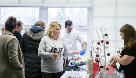 First Christmas market gets occupiers in festive spirit