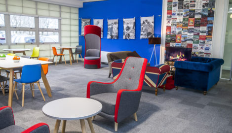 It's a WRaP! MEPC launches new agile work space at Silverstone Park Innovation Centre