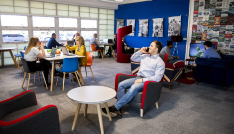 The WRAP agile work space launch Mar 2019