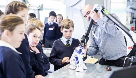 Beachborough School visit, Inspiration for Innovation, Apr 2019