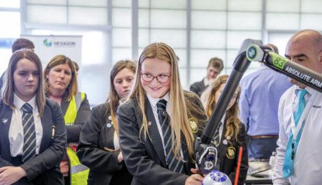 The Buckingham School visit, Inspiration for Innovation, May 2019