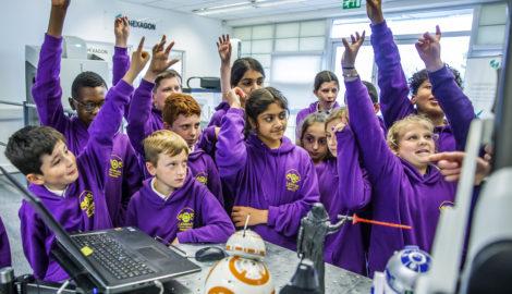 Derby Lakeside Academy visit, Inspiration for Innovation, June 2019