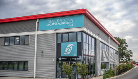 'Olympic' sports engineering hub officially opens at Silverstone Park