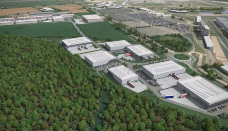MEPC increases speculative industrial development at Silverstone Park to 258,000 sq ft