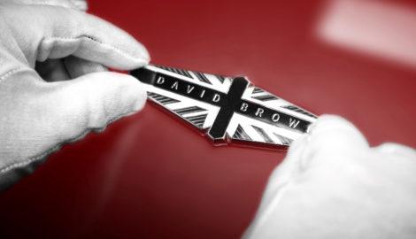 David Brown Automotive emblem