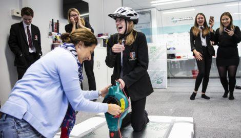 Inspiration for Innovation, Sponne School visit Oct 2019