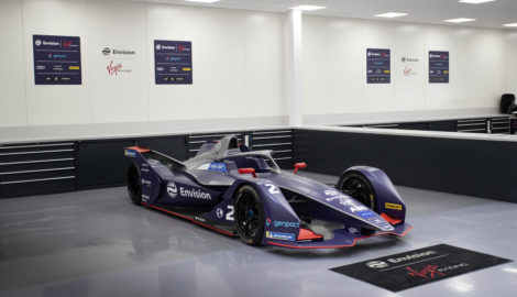 Envision Virgin Formula E team premises, Silverstone Park