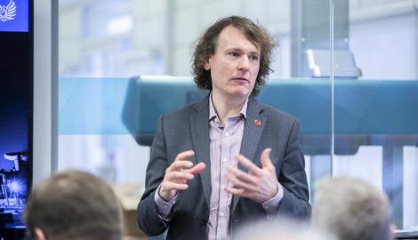 Dr David Harper, Uni of Coventry CBiS
