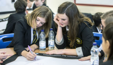 Strong start for careers awareness programme at Buckingham School event