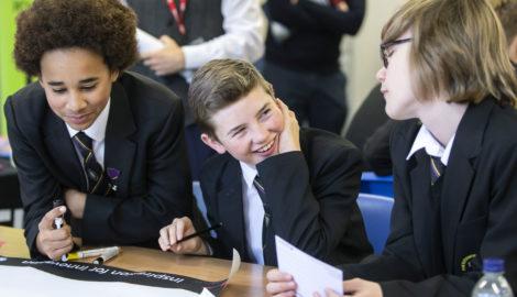 Inspiration for Innovation event, The Buckingham School, Dec 2019