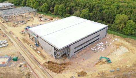 Aerial view, Enterprise Zone development, Silverstone Parkdefault