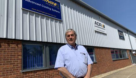 Alan Docking celebrates 40 years at Silverstone Park