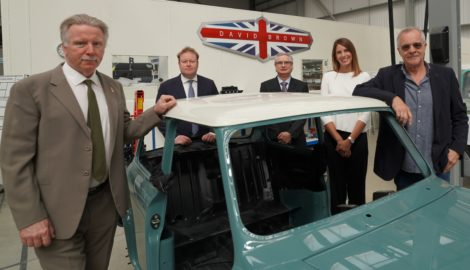 Major investment in Silverstone Park business David Brown Automotive