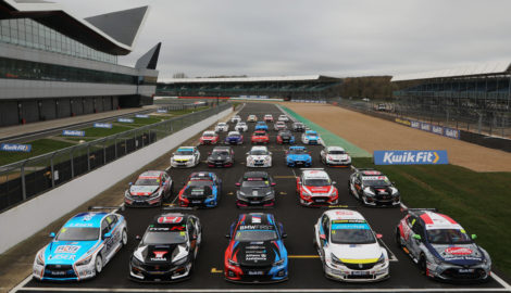 2020 BTCC contenders at the Silverstone Media Day