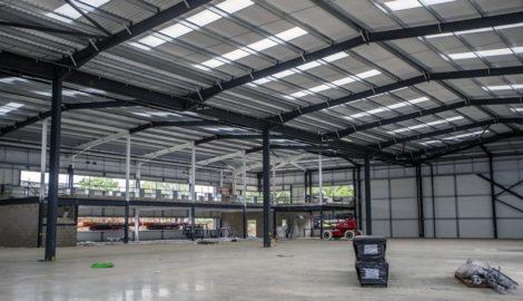 Enterprise Zone development, Silverstone Park, September 2020