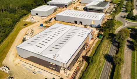 258,000 sq ft development, Enterprise Zone, Silverstone Park