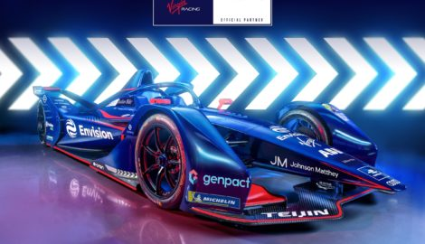 Electric race team Envision Virgin partners with sustainability technology leader Johnson Matthey