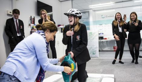 Inspiration for Innovation schools careers programme