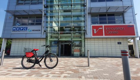 Bicycle scheme launched for Silverstone Park businesses